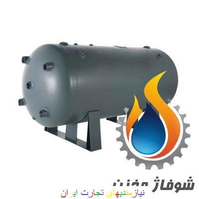منبع کویل دار یا مخزن کویلدار  آبگرم شوفاژ