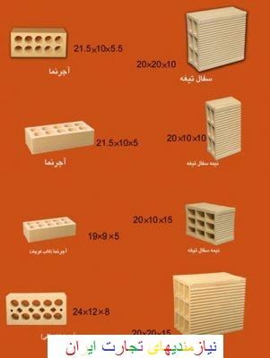 مرکز فروش اجر سفال اصفهان