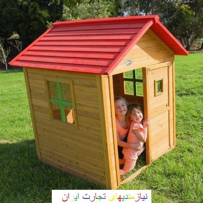 کلبه بازی چوبی Lifespankids