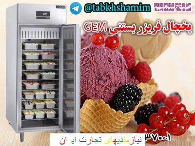 دستگاه یخچال فریزر بستنی جهت فریز کردن انواع بستنی