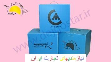 تولید و بسته بندی و چاپ روی کارتن پلاست در تهران  ورق پلاست